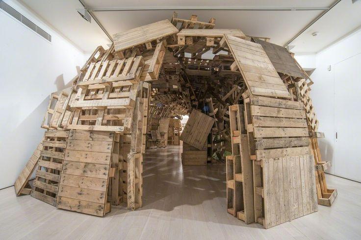 Tadashi Kawamata - Stairs | Annely Juda Fine Art | Artsy