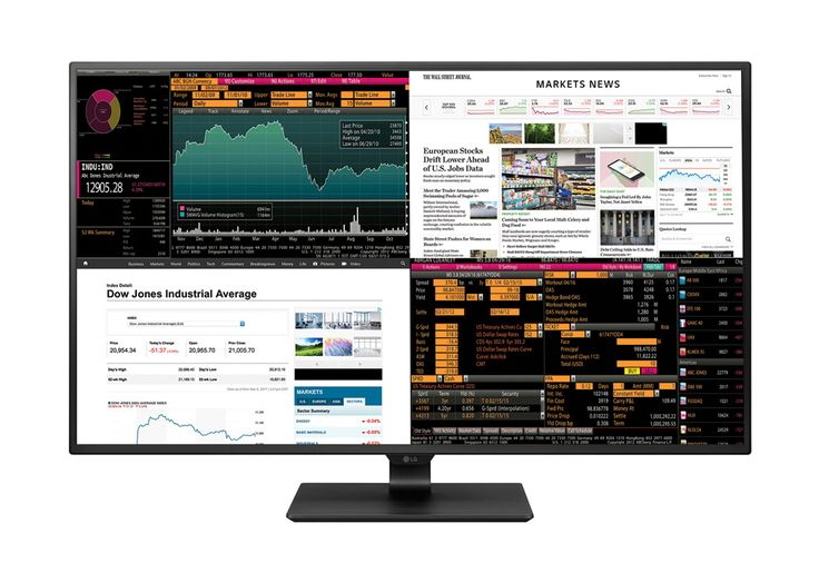 LG's latest 4K monitor puts four displays in one 42.5-inch panel