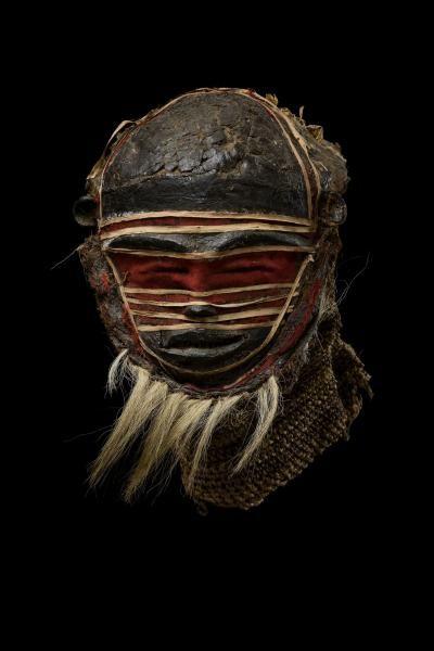 Object type : mask Place of collecting : Democratic Republic of the Congo > Katanga > Lualaba Culture : Chokwe