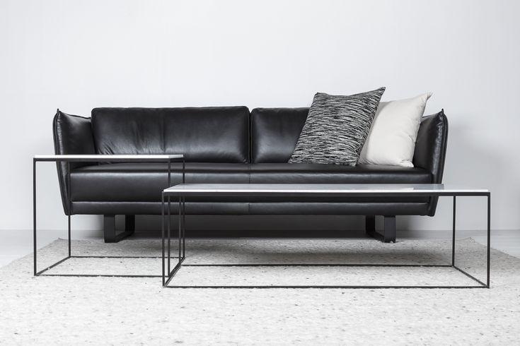 Coffee table - set - marble - Carrara - Missoni - pillows - https://www.abitare.be/