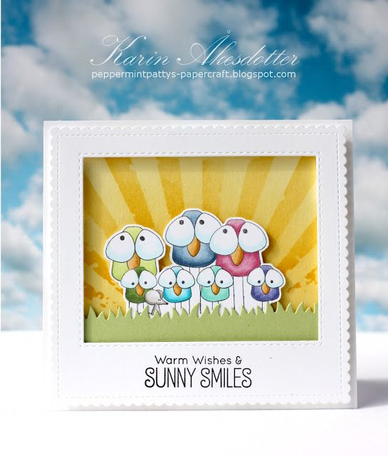 Simon Says Stamp Wednesday Challenge 428 Summer Sunshine - SSS - Designer Spotlight For more info: I share my creative projects here: https://www.instagram.com/peppermintpatty42/ and on my blog: http://peppermintpattys-papercraft.blogspot.se and on pinterest; https://www.pinterest.se/peppermint42/my-watercolors/