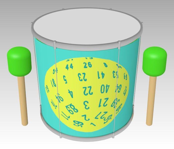 ''D100 Dice'' Surdo / #Music #Instrument