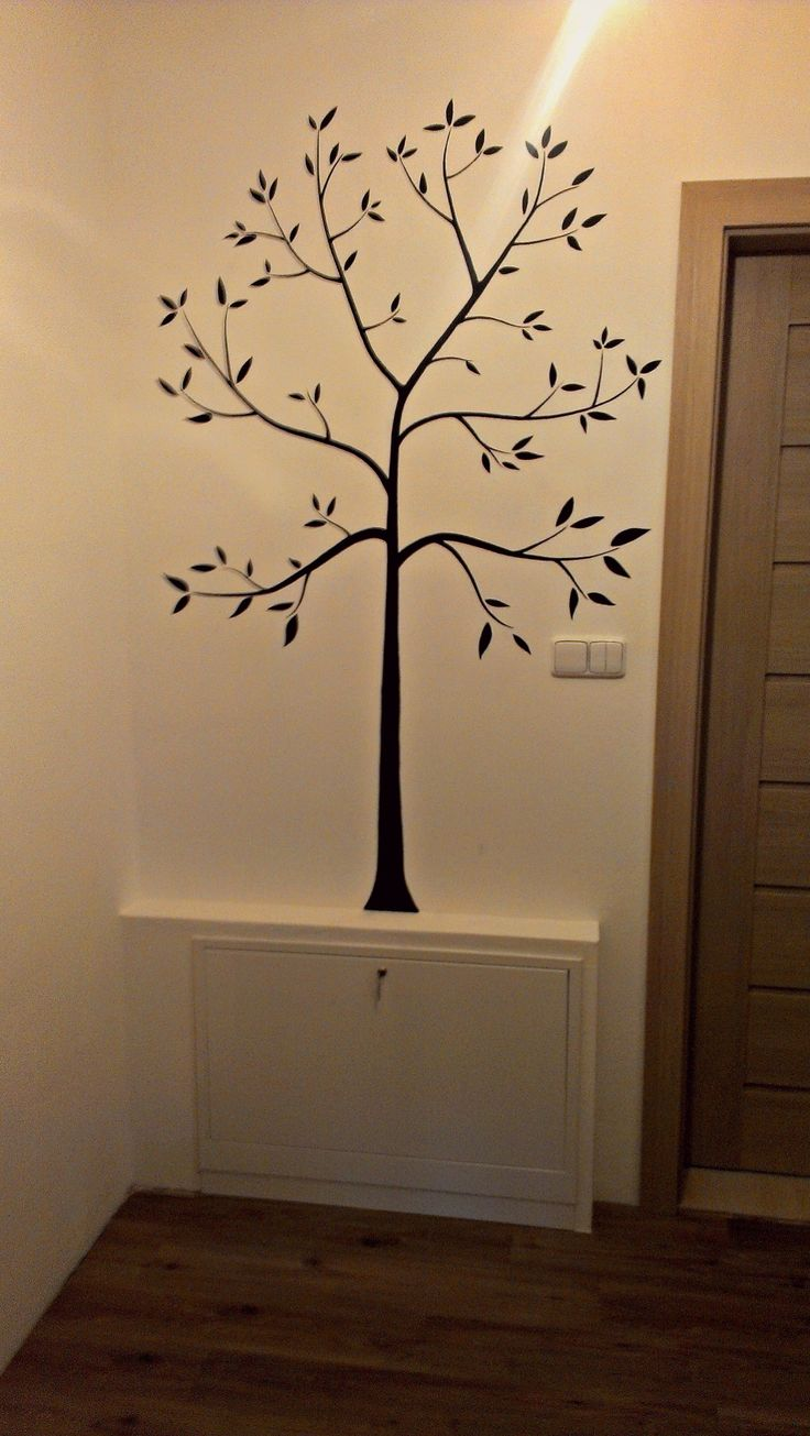 Decorating tree just waiting for photo frames as leaves