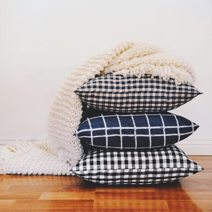 time to cosy up the home with #plaid. #cushioncovers in new patterns at #trimandthread. #cushions #etsyshop #etsyseller #handmadeau #handmadeaustralia