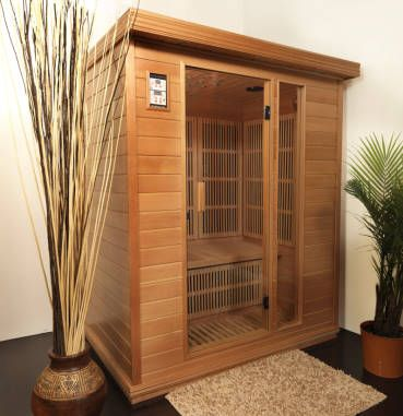 Infrared Sauna - went in one of these bad boys in Seattle and loved it. Very different from regular saunas. Haven't done the research, there's a variety of types, but definitely want one someday!