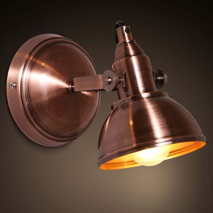 Bathroom Light Fixtures Edison 125 best retro loft wall lamps images on pinterest | wall lamps