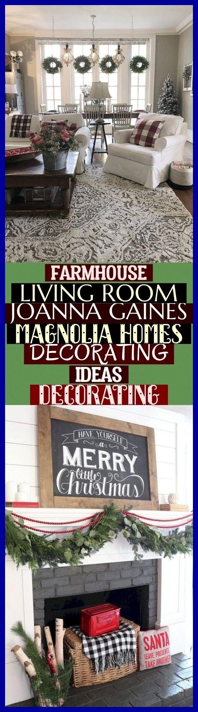 Farmhouse Living Room Joanna Gaines Magnolia Homes ...