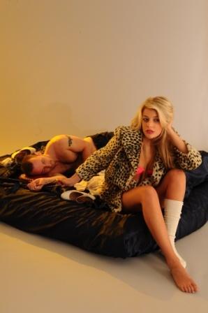 waking up and getting dressed by fashion designer/Stylist Marlen Vitorno