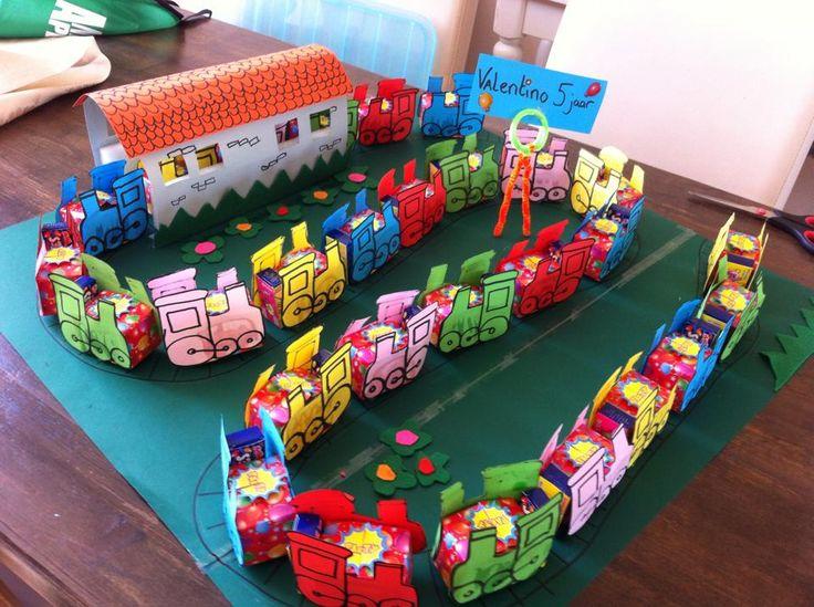 trein traktatie... Foto gevonden op facebook. Geen eigen idee!