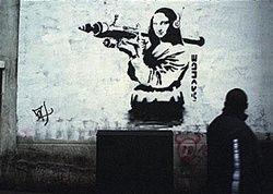 Banksy Art Attack Graffiti Art Poster Print