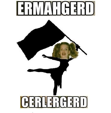 color guard meme
