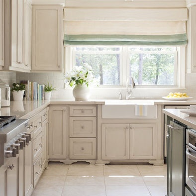 1000 images about kitchens on pinterest countertops cabinets and maple cream - Pictures of off white kitchen cabinets ...