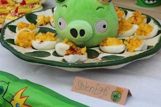 Angry Bird Birthday Party food ideas