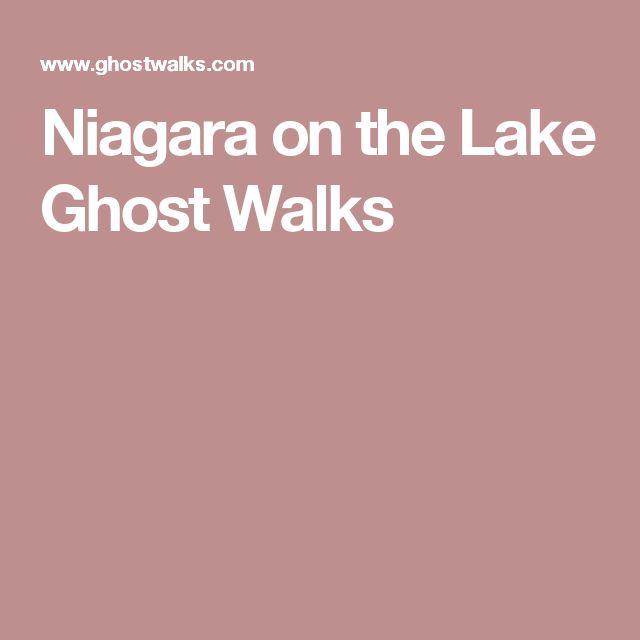 Niagara on the Lake Ghost Walks