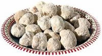 My grandmother would make these every Christmas. YUM!  Russian Tea Cakes