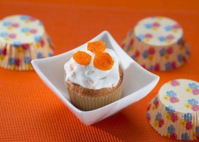 Cupcakes met een topping van Griekse yoghurt en gekonfijt citrusfruit   ILOVEBAKING.BE by Imperial