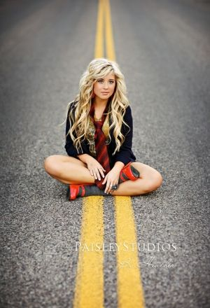 Senior Pic Pose Idea. I really love this. But I would want more of the road in the background.