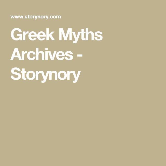 Greek Myths Archives - Storynory