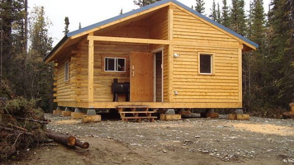 Want to add some shelter to your hunting land here are for Cabin builders alaska