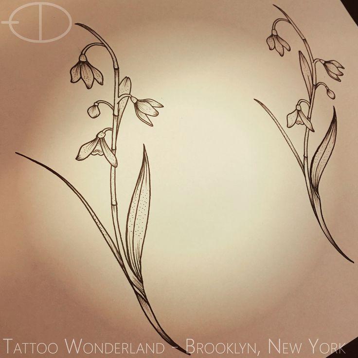 Snowdrop tattoo
