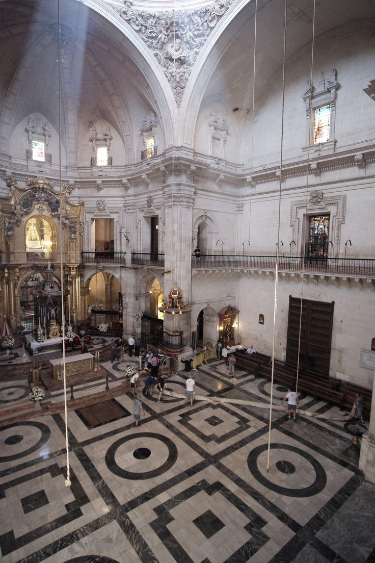 La basílica #MisteriDElx #MisteriDElx2015  @grupoanton