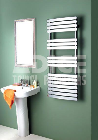 Show details for KOCA 600/1000mm Chrome Curved Designer Towel Radiator