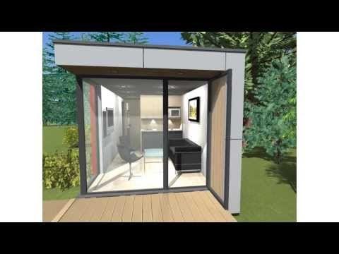 SmartMod - Gotowy domek letniskowy, nowoczesny domek holenderski. - YouTube