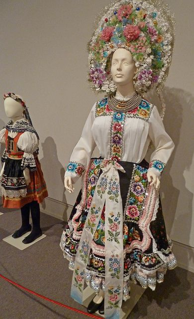 Moravian Wedding Kroj and Girls Costume   Flickr - Photo Sharing!