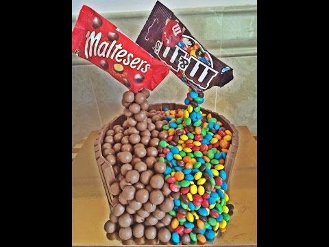 Торт maltesers m&ms - YouTube