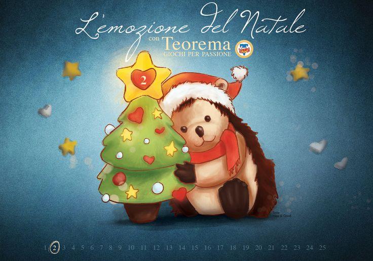 Attendiamo assieme l'emozione del Natale!!! #Emozione #Natale #Teorema #Giochi Per Passione
