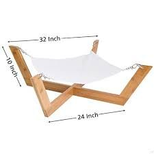 Image result for dog hammock bed
