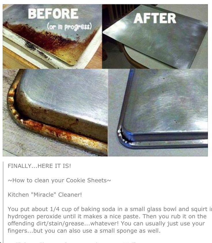 Baking soda + hydrogen peroxide