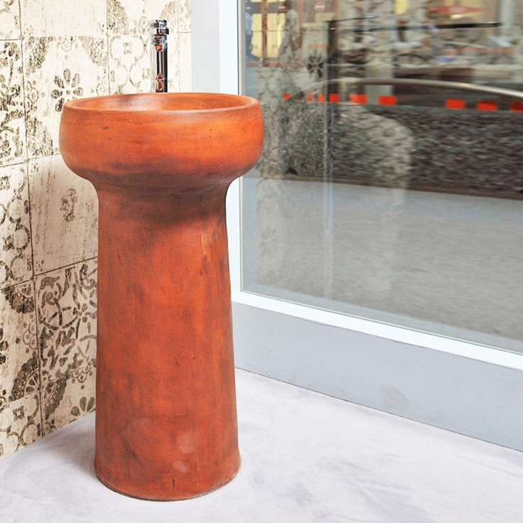 Graal freestanding natural by Azzurra Ceramica $1832