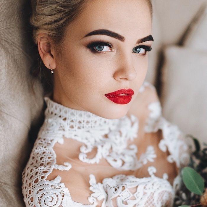 ▷ 1001+ Ideen für atemberaubendes Hochzeits-Make-up – Hochzeit – #Hochzeit #i…