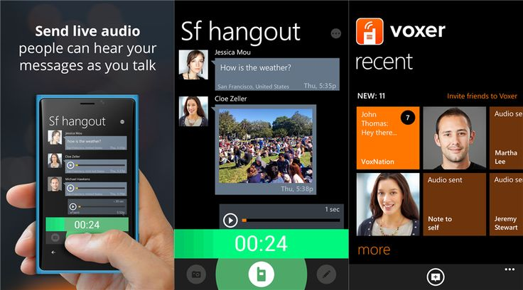 Voxer Business Support apps Update for Windows Phone 8