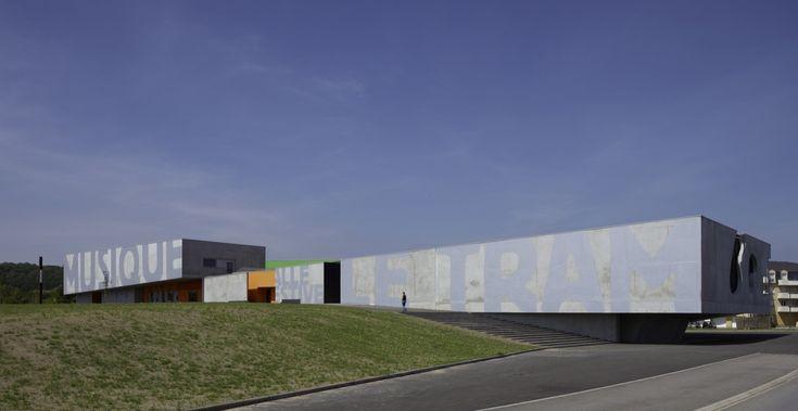 Maizières Music Conservatory,© Eugeni Pons