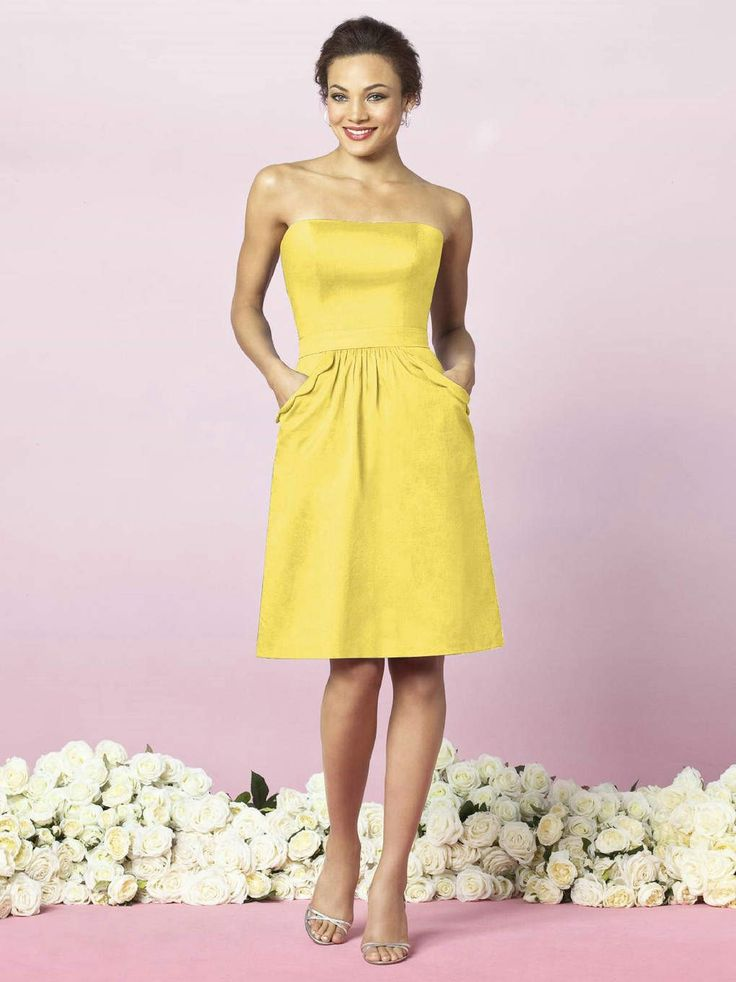 robe de cocktail jaune robes de cocktail collection jaunes. Black Bedroom Furniture Sets. Home Design Ideas