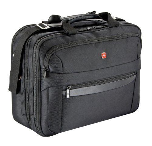 Wenger RV Businesstasche mit Laptopfach 17 Zoll  Basic, schwarz, 27 liters, W73012298 - http://herrentaschenkaufen.de/wenger/schwarz-wenger-business-basic-laptoptasche-41-cm