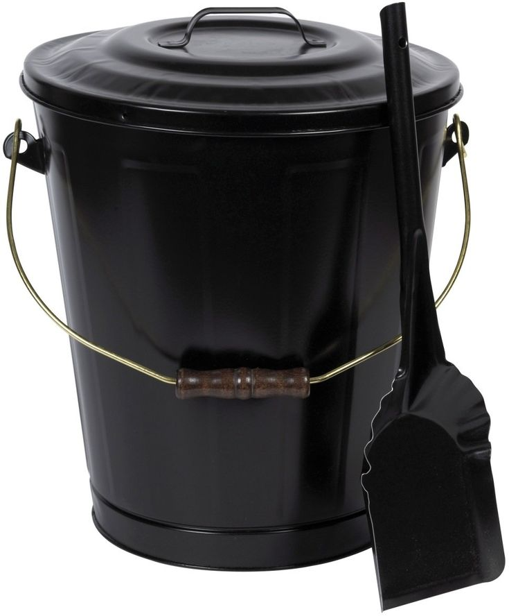 Imperial Lt0160 Lasting Traditions Ash Container And Shovel Set Black Container Fireplace Supplies Fireplace Accessories