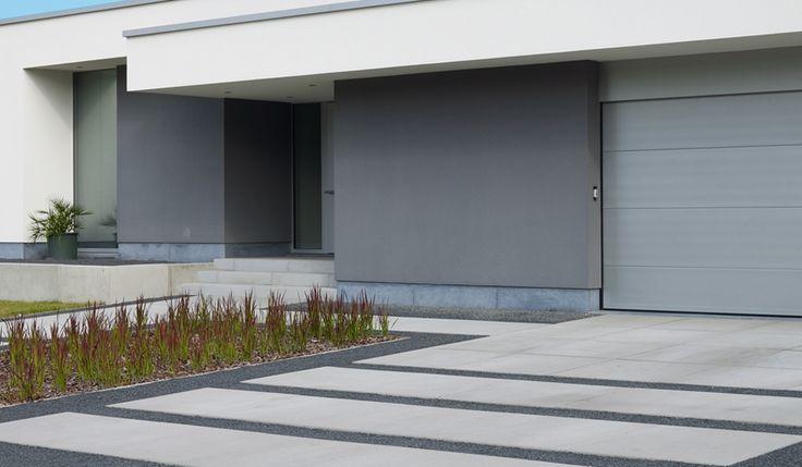 Stone & Style : megategels carreau 100x100 zorgt voor strakke look in eigentijdse tuinontwerpen