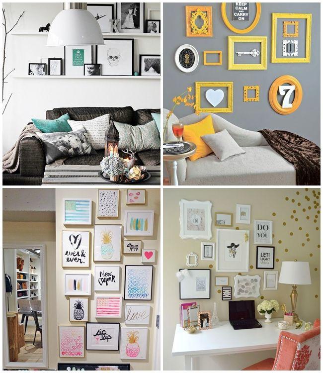 Como montar a parede de quadros perfeita