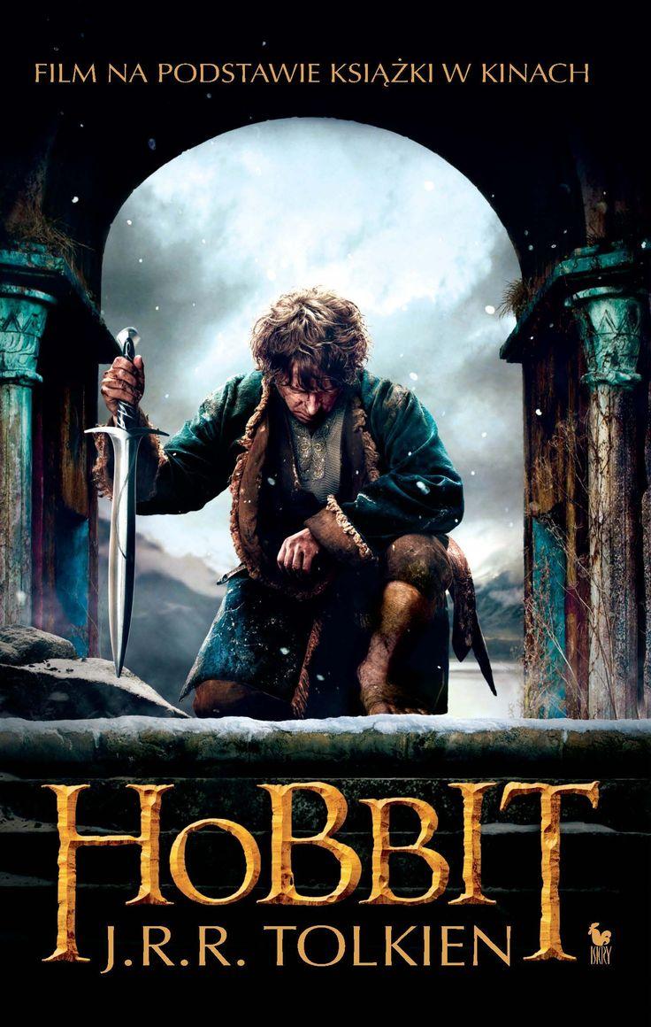 """Hobbit, czyli tam i z powrotem"" (The Hobbit or There and Back Again) J.R.R. Tolkien Translated by Maria Skibniewska Poems translated by Włodzimierz Lewik Cover by Film Published by Wydawnictwo Iskry 2014"
