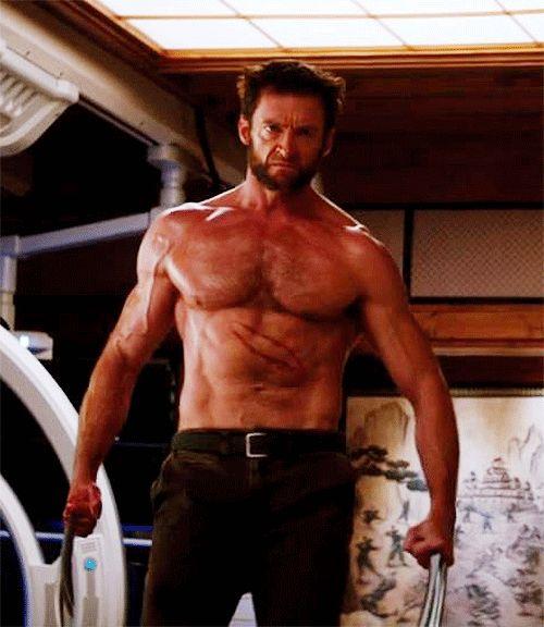 hugh jackman wolverine no shirt   Hugh Jackman, Ryan Gosling : Les 21 hommes les plus sexy du monde ...