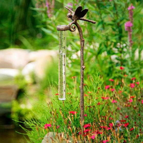 Regenmesser Libelle Von Gartner Potschke Regen Messer Do It Yourself Garten Pflanzenzubehor