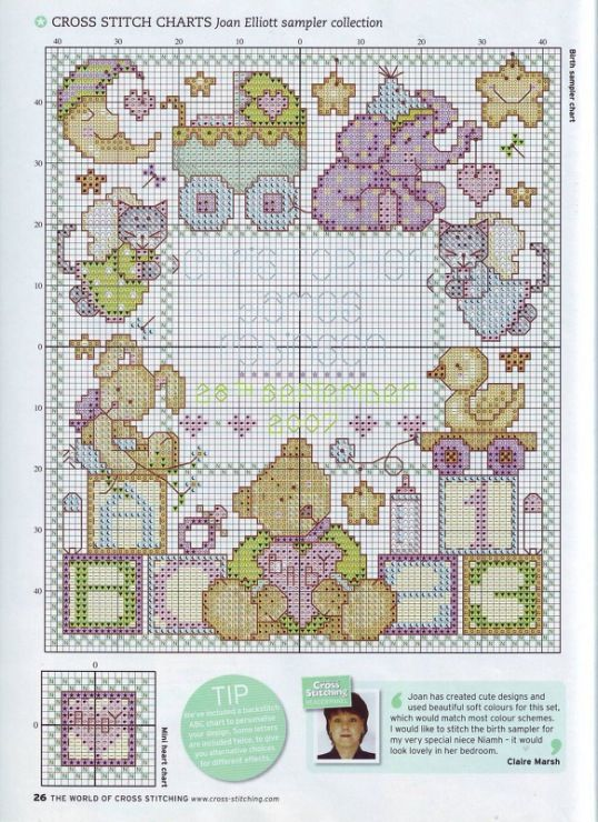 (1) Gallery.ru / Photo # 15 - The world of cross stitching 124 - tymannost