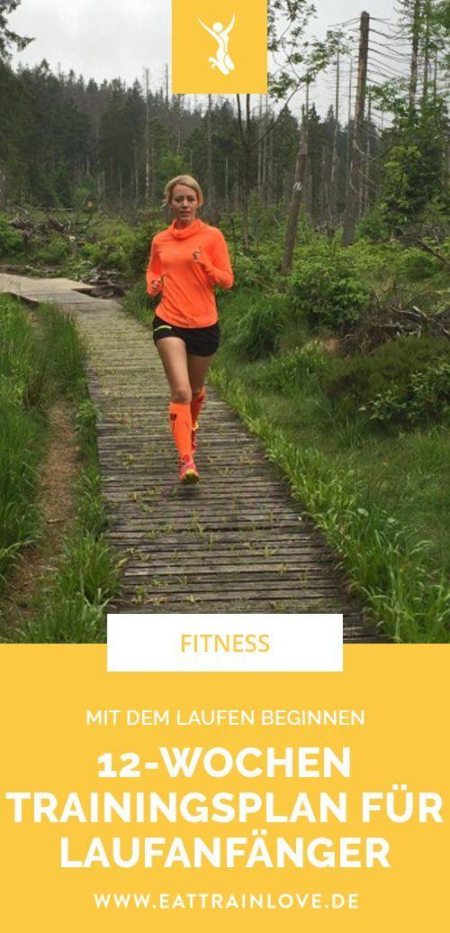 Mit dem Laufen beginnen: Der 12-Wochen-Trainingsplan für Laufanfänger – Jochen Kammerer