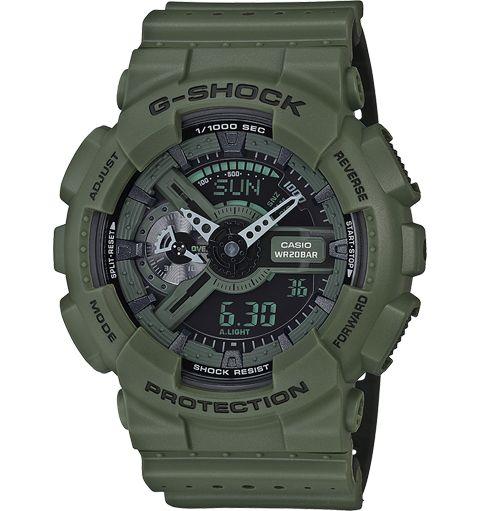 CASIO G-SHOCK Montre - GA-110LP-3AER vert
