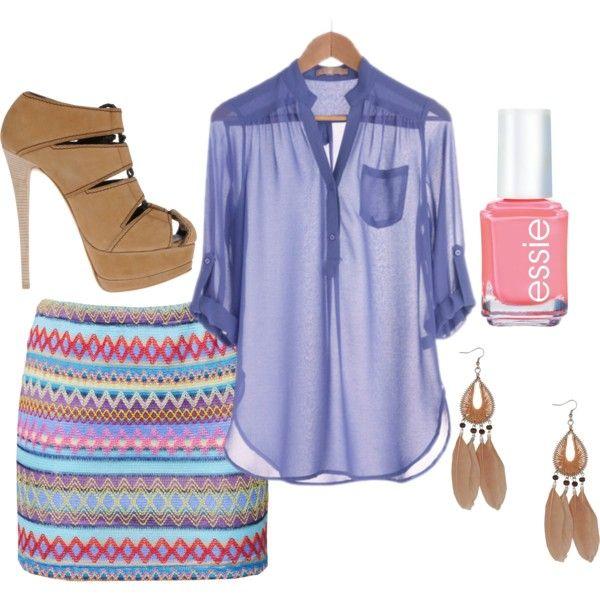 lavender: Dreams Closet, Summer Outfit, Color, Shirts, Summer Style, Sheer Tops, Nails Polish, Summer Fun, Tribal Prints