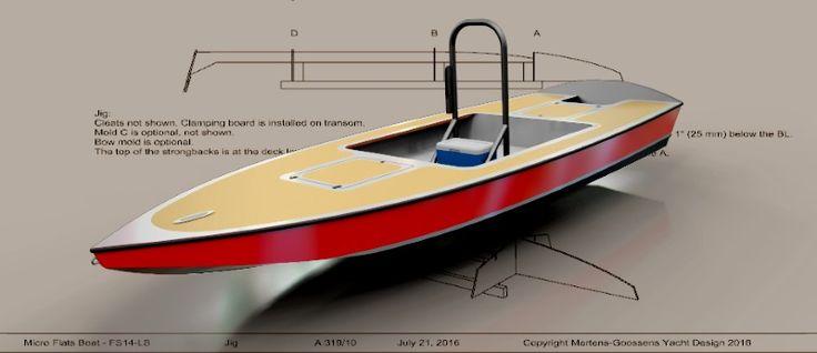 Flats boat, plan