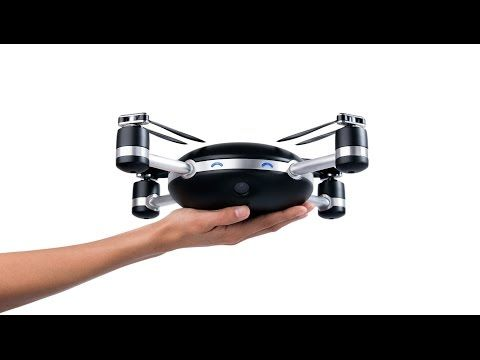 A self-flying selfie drone camera that follows you everywhere: Lily - YouTube